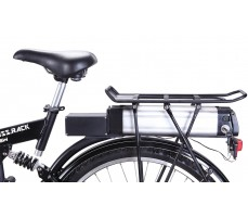 Фото сиденья электровелосипеда Wellness Cross Rack Black