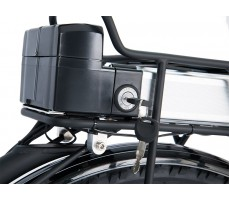 Фото замка аккумулятора электровелосипеда Wellness Cross Rack Black