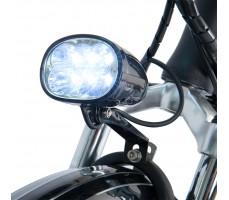 Фото переднего фонаря электровелосипеда Wellness Cross Rack Black