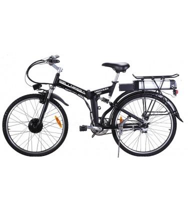 Электровелосипед Wellness Cross Rack Black  | Купить, цена, отзывы