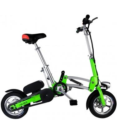 Электровелосипед Volteco Shrinker II зеленый | Купить, цена, отзывы