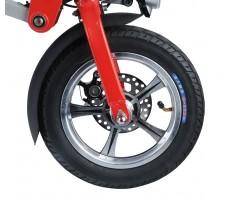 Фото колеса электровелосипеда Volteco Shrinker II Red