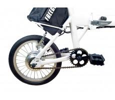 Фото заднего колеса электровелосипеда Volteco Freego White