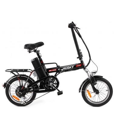 Электровелосипед Wellness Husky 350 черный | Купить, цена, отзывы