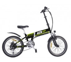 Электровелосипед Wellness Air 350 Black-Green