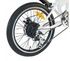 Фото колеса электровелосипеда Wellness Air 350 White-Black