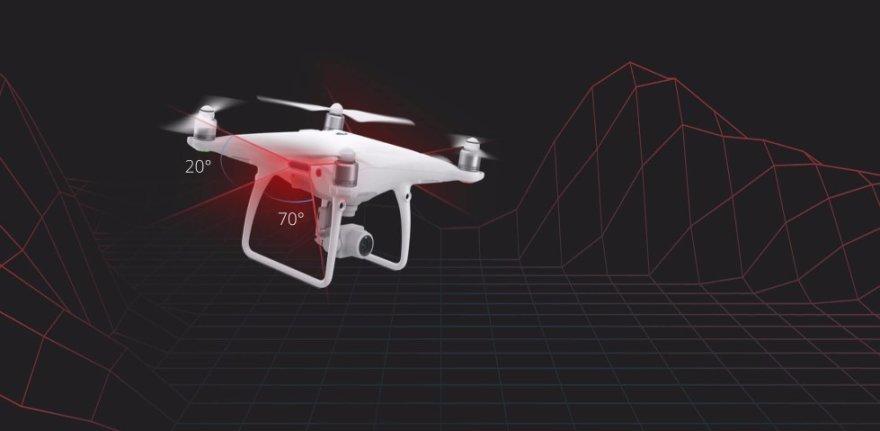 график dji phantom 4 сканер