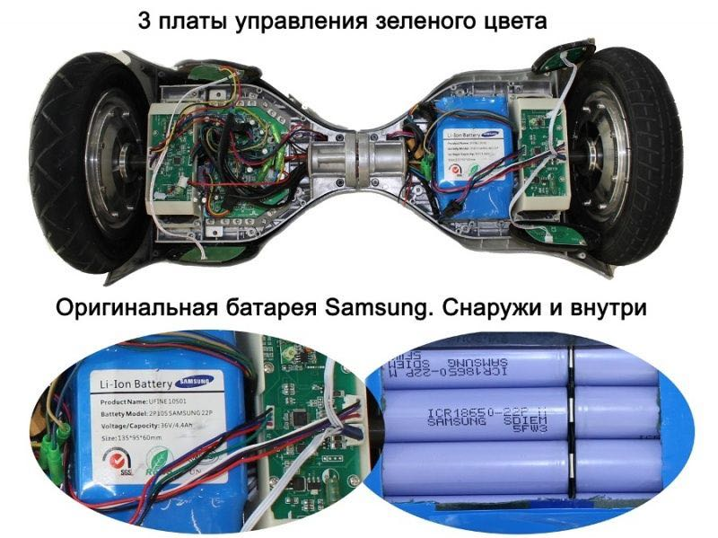 компоненты правильного гироскутера