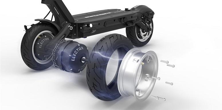 dualtron3 строение колеса