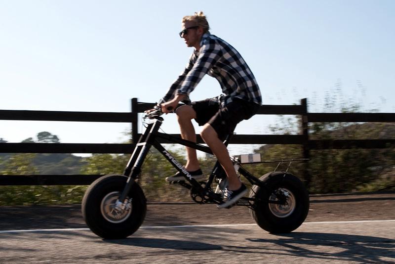 Электровелосипед для бездорожья