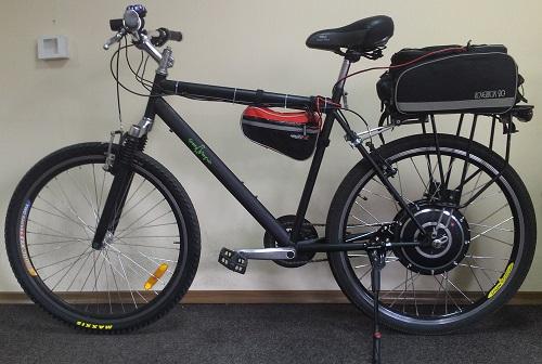 Электровелосипед со свинцово кислотным акб
