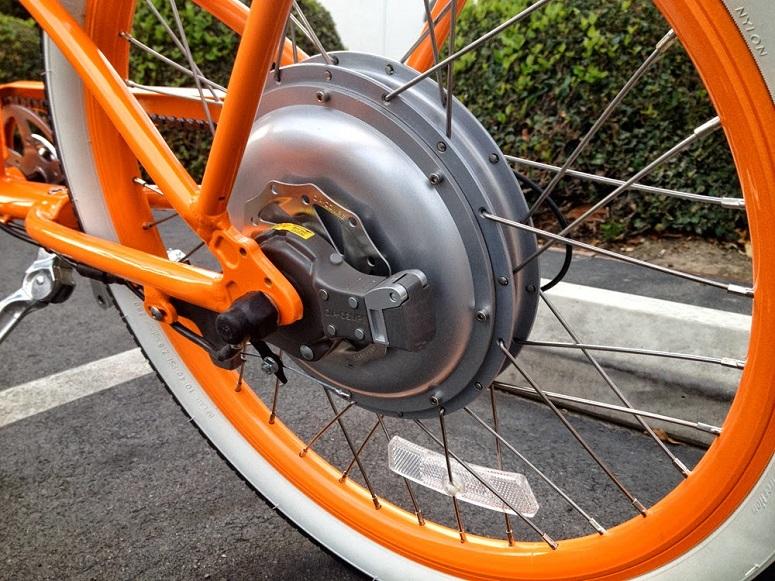 Велосипед с электроколесом