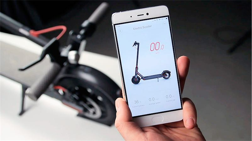 Настройки электросамоката Xiaomi Mijia  Читайте сейчас