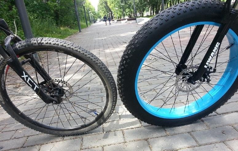 колесо фэтбайка