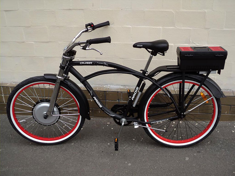 Электровелосипед с передним приводом