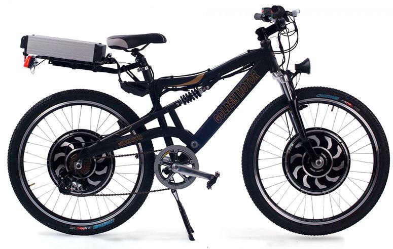 Электровелосипед с полным приводом