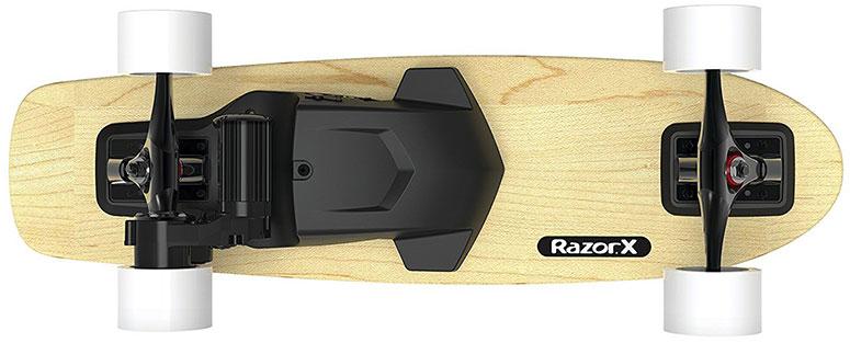 Razor Cruiser Electric Skateboard - вид снизу