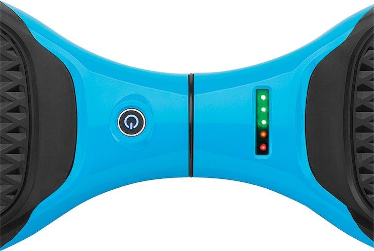 кнопка включения гироскутера райзор ховертракса и индикатор заряда