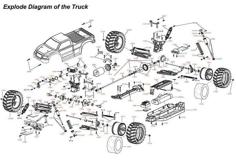 Конструкция rc машины