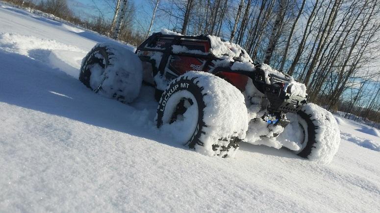 Rc машина для снега