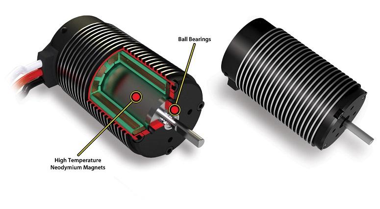 Устройство бесколлекторного двигателя