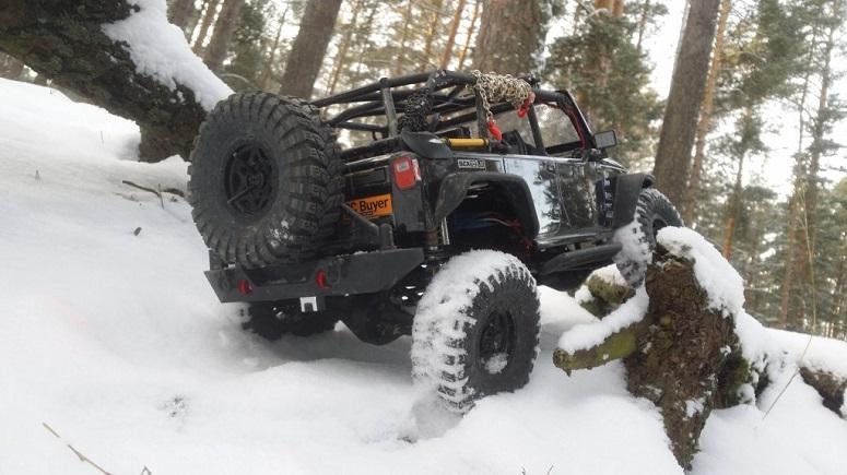 RC машины зимой