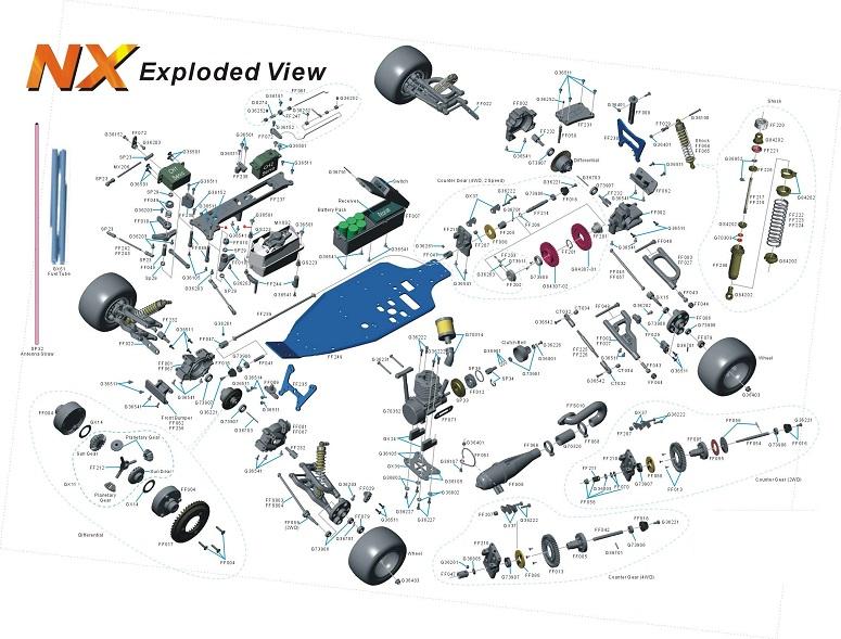 Схема RC машины